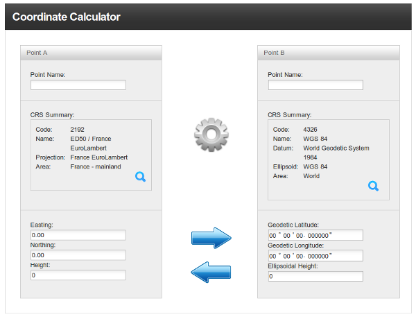 Geodetic Calculator